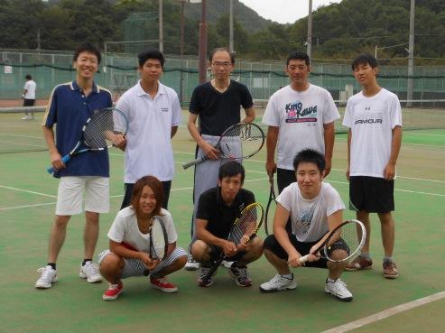 テニス部 集合写真