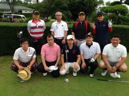 ゴルフ集合写真②