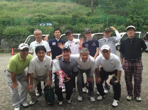 ゴルフ集合写真①